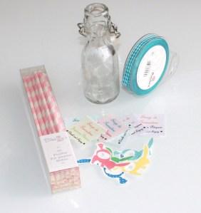 free printable : étiquettes  sirop de grenadine pour jolies bouteilles de pâques