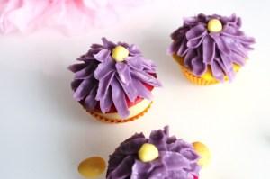 cup cake violette