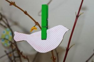 diy oiseau en carton
