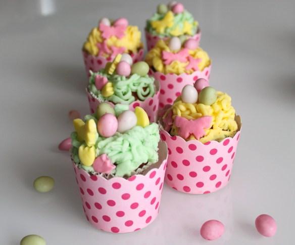 cupcakes de paques la fabricamania