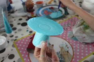 DIY pâques : mini stand à cupcakes