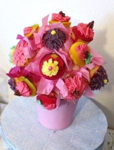 le bouquet de cup cake