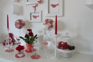 sweet table rouge cerise