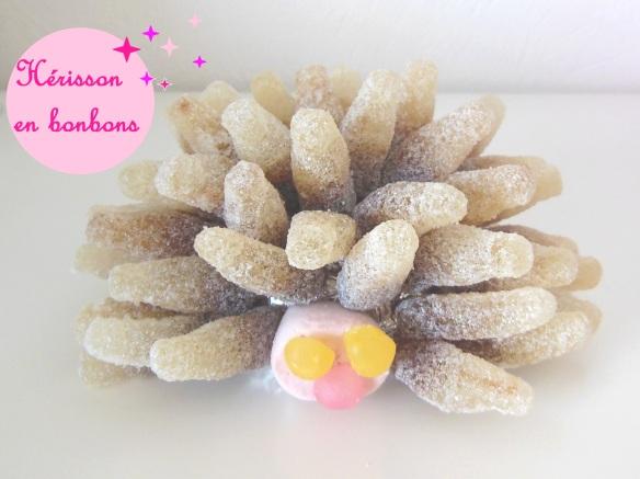 atelier hérisson en bonbons fête anniversaire