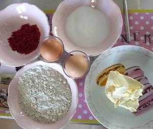 ingrédients cupcakes