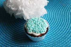 cupcake pâte à sucre fleurettes