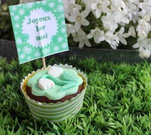 cupcake 1er mai