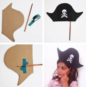 diy chapeau pirate my little day