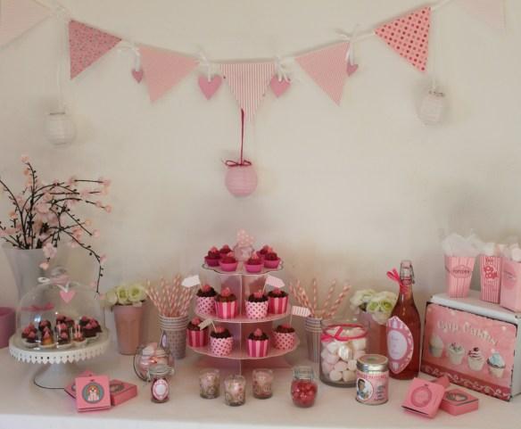sweet table girly - la fabricamania