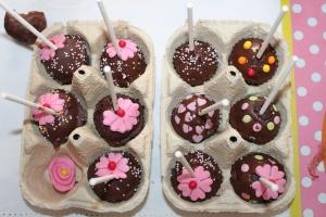 cake pops d'Alexane