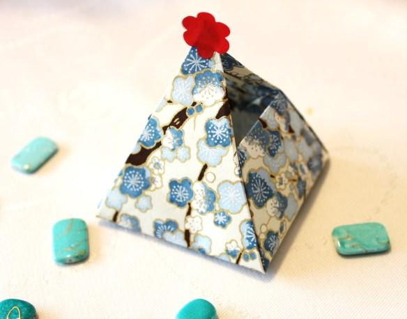 ballotin origami - la fabricamania
