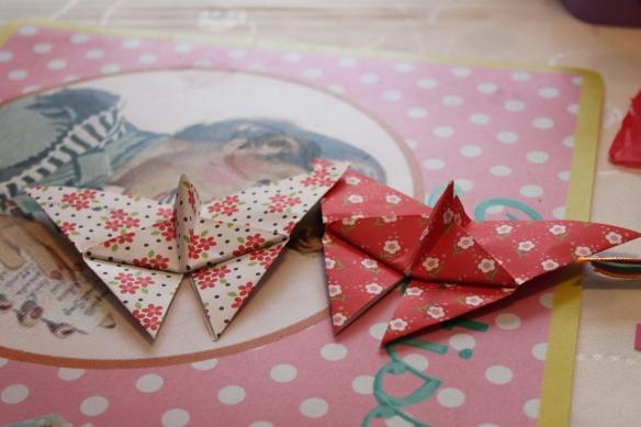 origami papillon japonais
