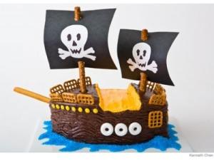bateau gâteau pirate