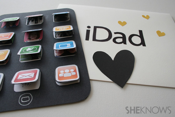 Des cr ations sympas pour la f te des p res la fabricamania for Last minute diy birthday gifts for dad