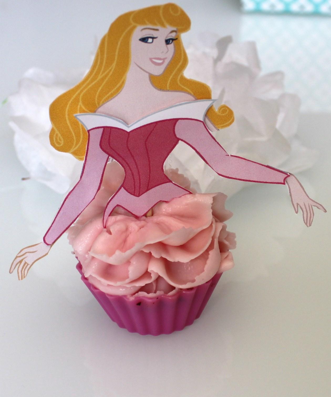 Organiser anniversaire cupcake princesse la fabricamania la fabricamania - Image de princesse ...