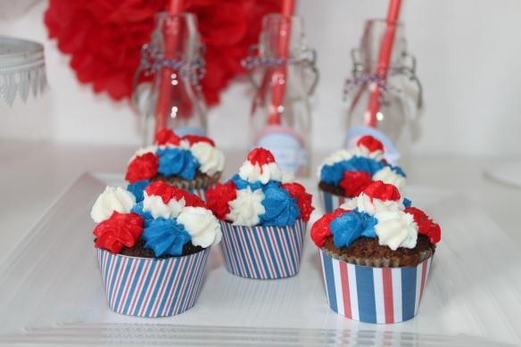 cupcake 14 juillet la fabricamania