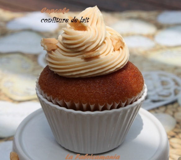 la fabricamania-cupcake designer-bordeaux- cupcake confiture de lait