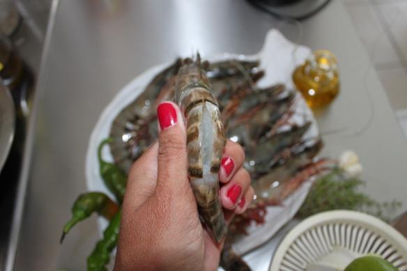 la fabricamania-recette-gambas marinées plancha