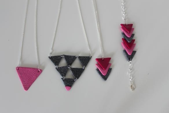 bijoux aztèque-atelier fimo- La fabricamania