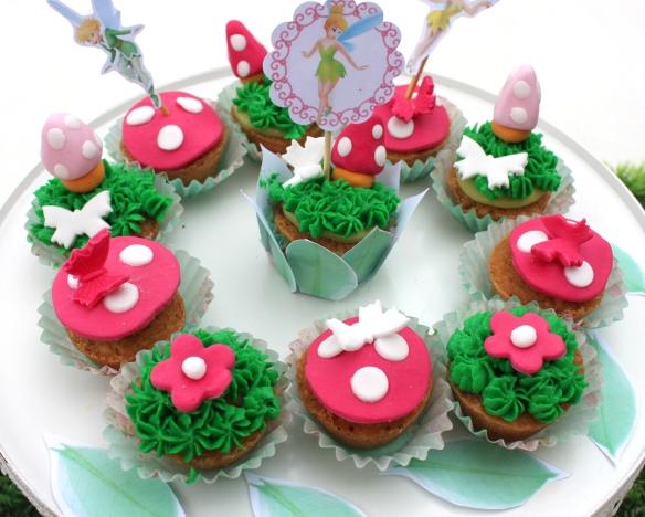 cupcakes féériques
