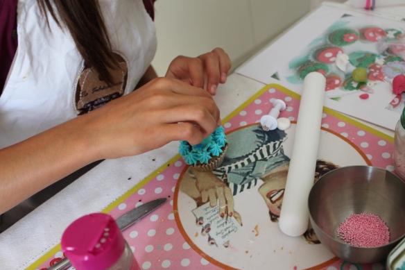atelier cupcakes, cours de cuisine bordeaux gironde fabricamania anniversaire enfant