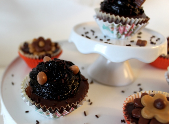 Cupcakes chocolat - la fabricamania (17)