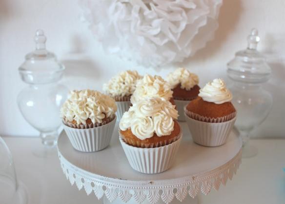 cupcakes mariage blancs
