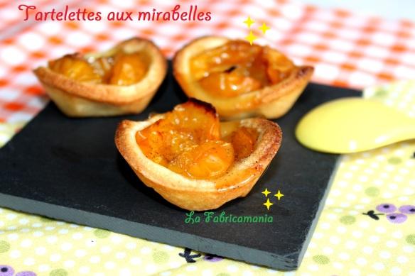 recette tartelette mirabelles- la fabricamania