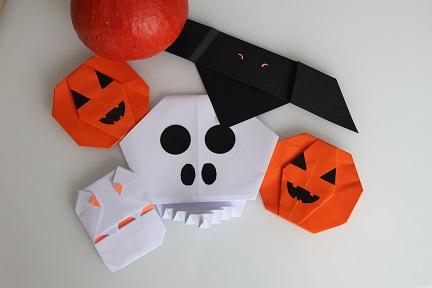 1-origami halloween-la fabricamania