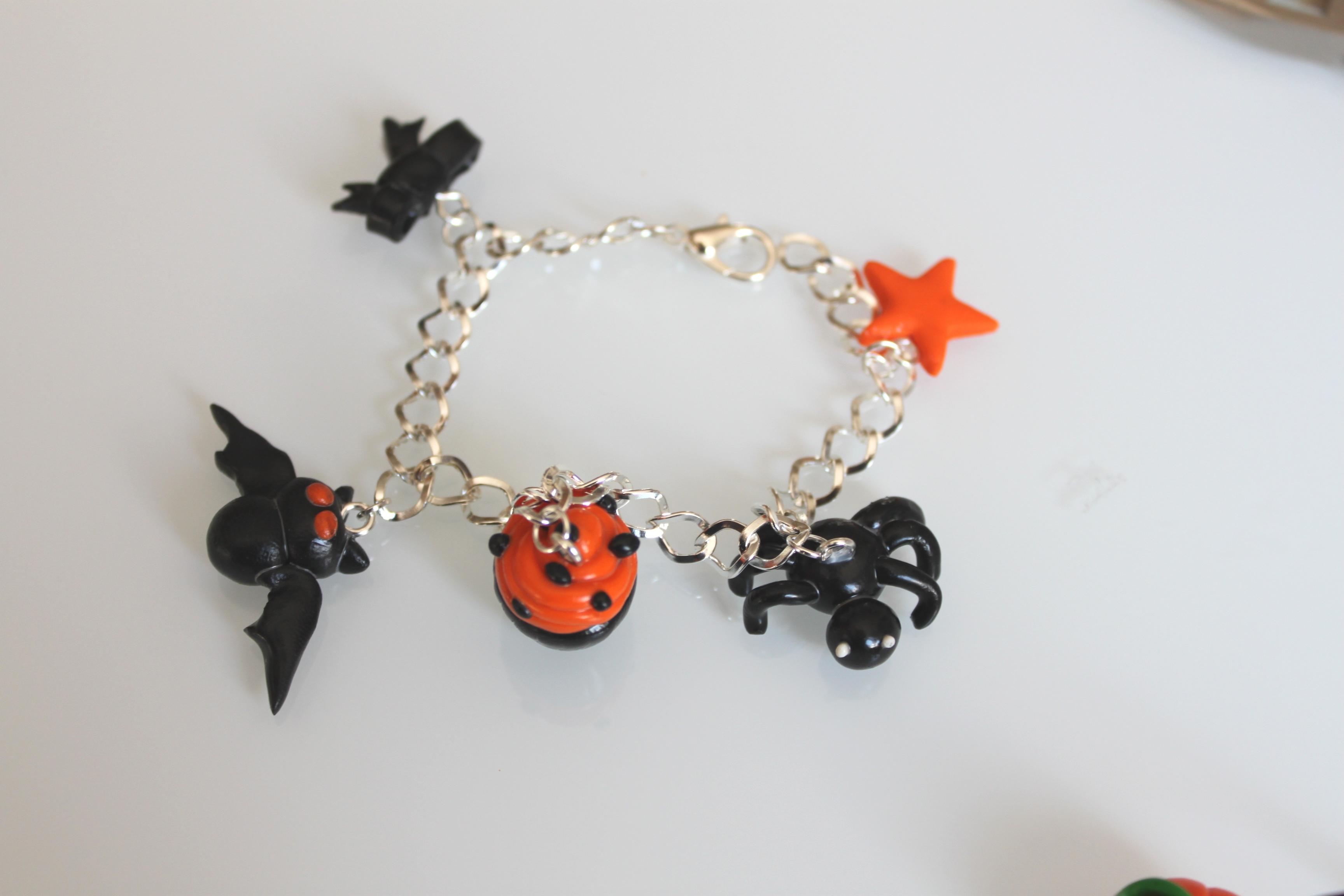 Atelier de la toussaint  bijoux fimo thème « Halloween