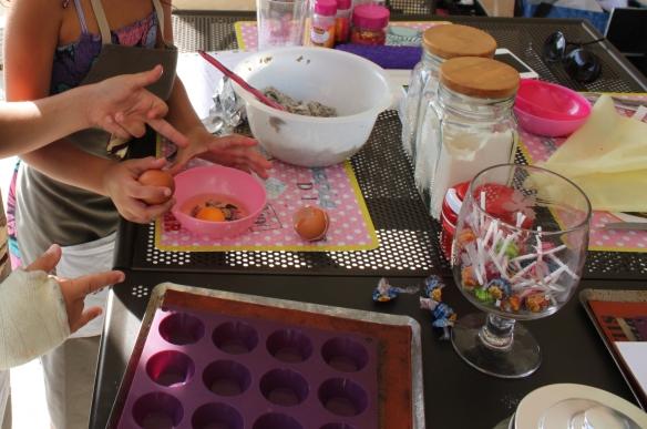 fete anniversaire -atelier cupcake -bordeaux - gironde -la fabricamania2
