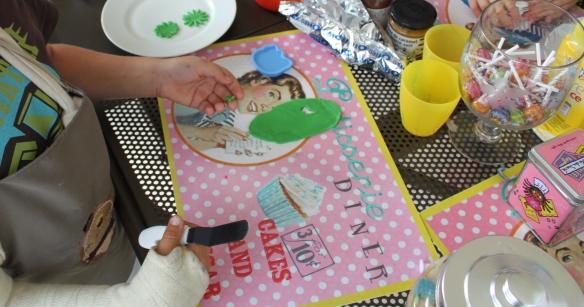 fete anniversaire -atelier cupcake -bordeaux - gironde -la fabricamania4