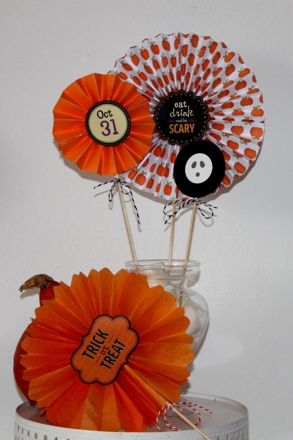 diy rosace halloween - la fabricamania