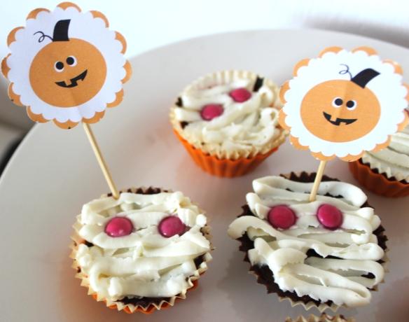 cupcakes halloween, la fabricamania