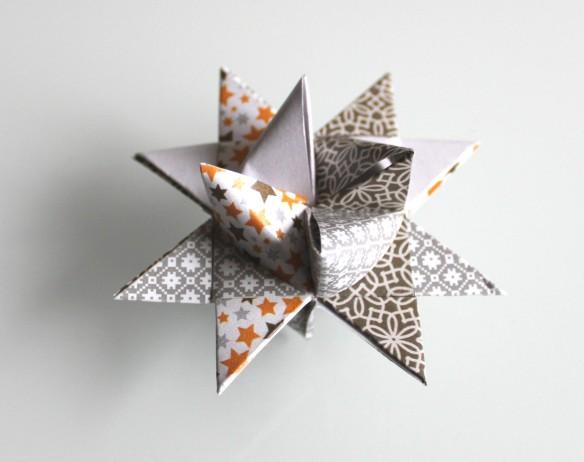 diy étoile de Froebel - la fabricamania