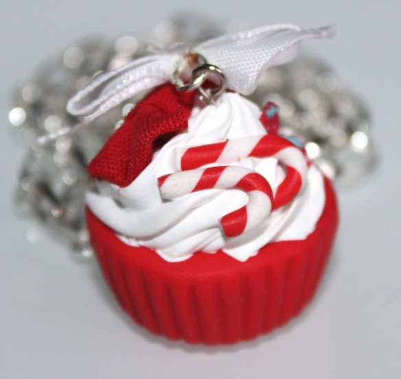 cupcake de noel fimo atelier fete d'anniversaire la fabricamania