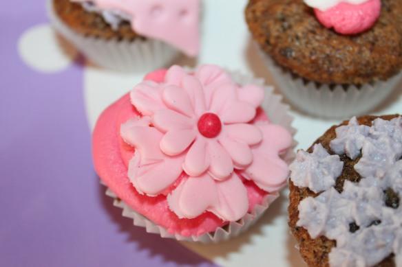 Iatelier cupcakes  la fabricamania lego friends mauve rose