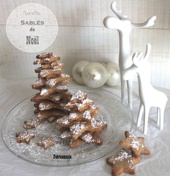 sablés de noël la fabricamania