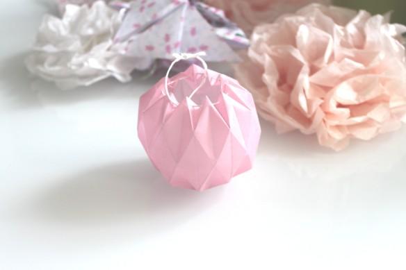lampion en papier calque