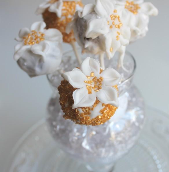 bouquet cake pop fleurs la fabricamania