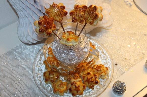 galette des rois version sucettes crème d'amande