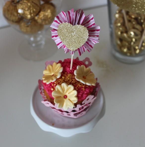 La fabricamania diy rosaces pour sweet table et cupcake