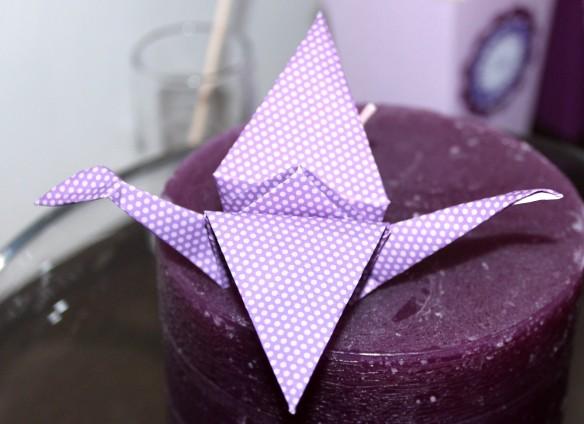 origami grue box anniversaire