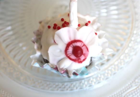cake pop fleur