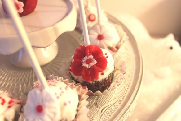 cake pop japon fleur