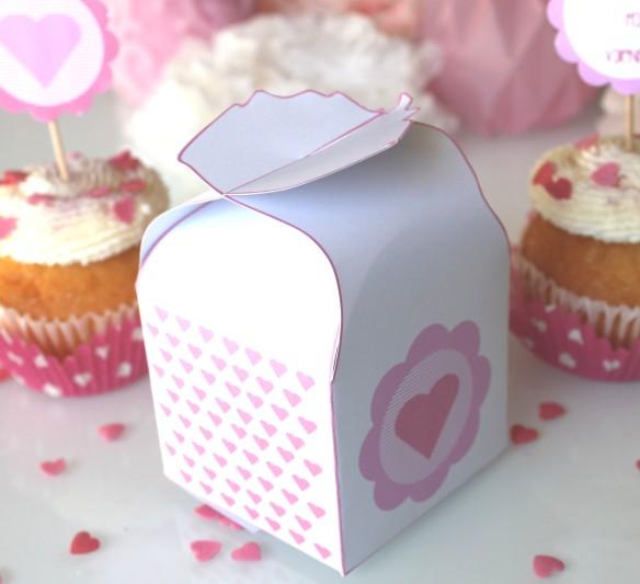 valentin printable box la fabricamania free