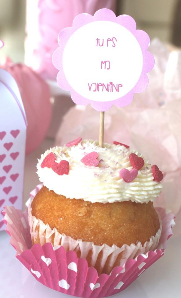 free printable valentin cupcake box v
