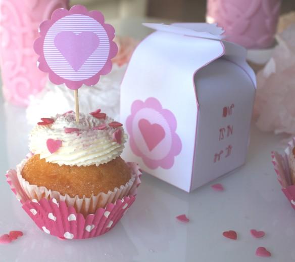 saint valentin box printable la f