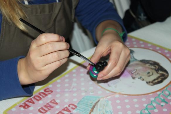 atelier fimo poupées japonaises fête d'anniversaire enfant Saint-médard