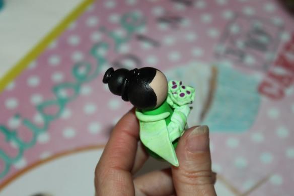 atelier fimo poupées japonaises fête d'anniversaire Saint-médard